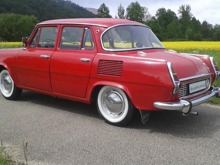 Škoda 1000 MB Hire Belá