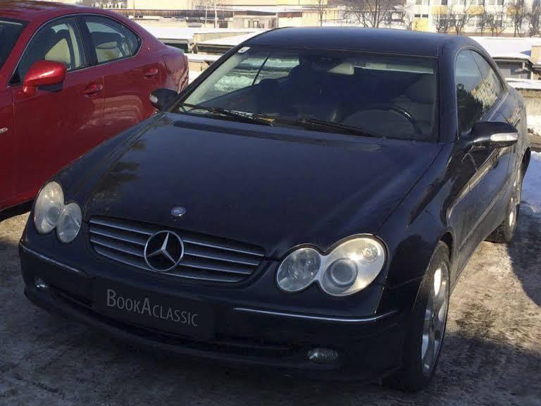 Mercedes Benz CLK 270 CDI Hire Detva