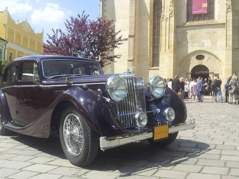 Jaguar  MK IV Hire Prešov